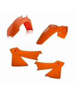 Std Plastic Kit KTM EXC125-300 EXCF 250/400/530/450/500 2004