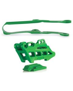 Kawasaki KXF450 016-17 Guide Slider Kit Green