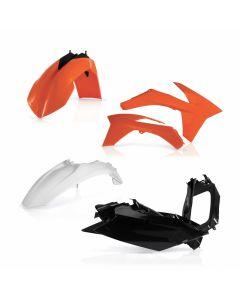 STANDARD PLASTIC KIT KTM SX-F 250/350/450 11/12    SX 125/150 11/12    SX 250 11/12