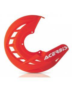 X-Brake Disc Cover Orange 16