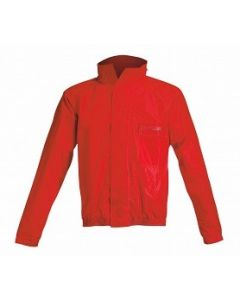 ACERBIS RAIN SUIT LOGO RED/BLACK