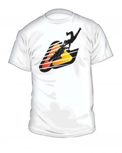 0016484 Acerbis T-shirt Strips White