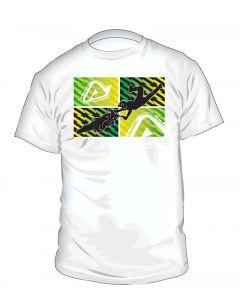 0016485 Acerbis T-shirt Rebus White