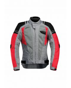 Acerbis Laxey Vented Jacket Grey/red