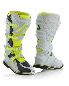 X-Move 2.0 Boots Grey/Flo Yellow