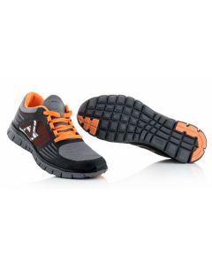 Corporate Running Shoe Black/Flo Orange