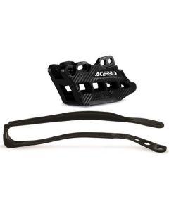 Kawasaki KXF450 16-18 Guide Slider Kit Black