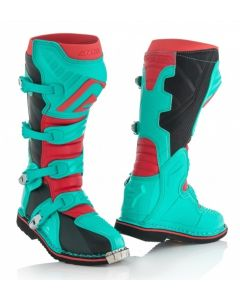 X-PRO V Boot Green/Red