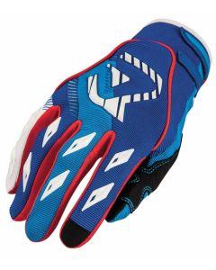 MX1 X1 Glove Blue/Red