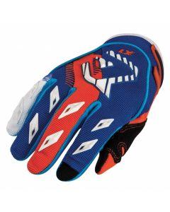 MX Kid Glove Blue/Flo Orange