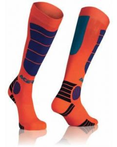 MX IMPACT KID SOCKS OR/BLUE