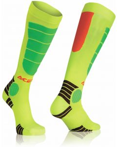 MX IMPACT KID SOCKS OR/YELLOW