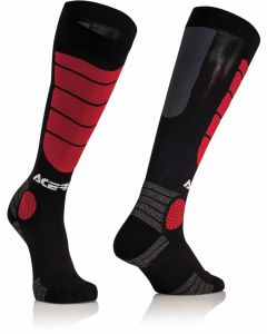 MX IMPACT KID SOCKS BK/RED