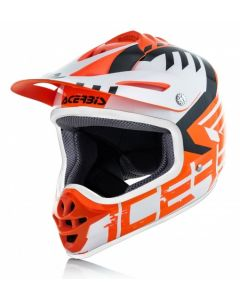 Impact Youth 3.0 Helmet Flo Orange/White