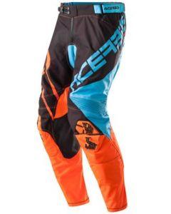 X-GEAR PANTS BLUE/FLO ORANGE