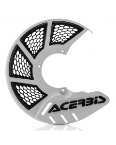 X-Brake Front Disc Cover KTM and HUSKY 85 White/Black