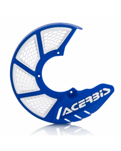 X-Brake Front Disc Cover KTM and HUSKY 85 Blue/White