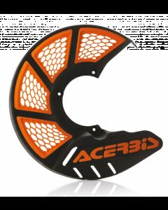 X-Brake Front Disc Cover KTM SX85 Black/Orange