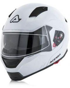 Box G-348 Flip Front Helmet White