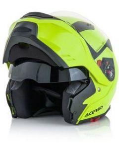 Box Helmet Flip Front Flo Yellow