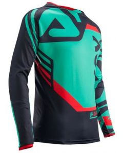 DREAMEVIL MX JERSEY AQUA/GREY