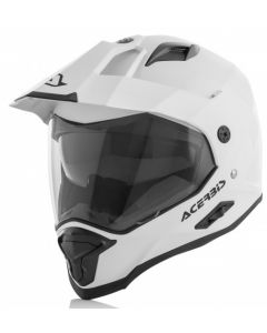 Reactive Adventure Helmet White