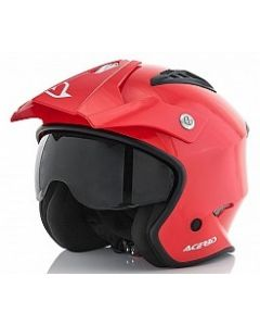 JET ARIA HELMET RED