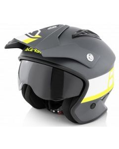 JET ARIA HELMET BLACK/YELLOW