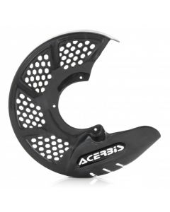 X-BRAKE VENTED CARBON FRONT DISC COVER