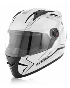 FS 807 FULL FACE HELMET WHITE/BLACK