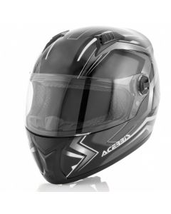 FS 807 FULL FACE HELMET BLACK/WHITE