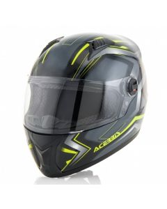 FS 807 FULL FACE HELMET BLACK/FLO YELLOW