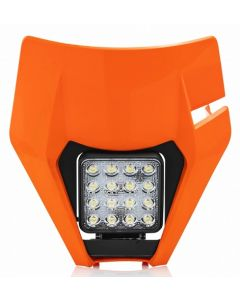 HEADLIGHT AND MASK KTM EXC