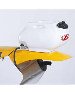 0001609 Rear Auxiliary 6 lit. White Acerbis Fuel Tanks