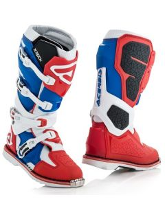 X - ROCK BOOTS RED/WHITE