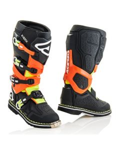 X - ROCK BOOT BLACK/FLO ORANGE