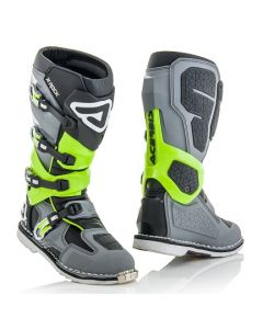 X - ROCK BOOT GREY/FLO YELLOW