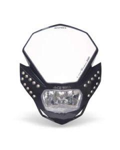 0013429 Acerbis LED Vision HP Headlight Black