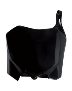 0013147 Acerbis Front Number Plate Honda CRF 450 R - 09/12 Colour: BLACK