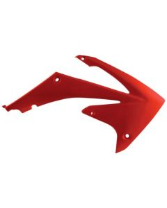 0013145 Acerbis Radiator Scoops Honda CRF 450 R - 09/12 Colour: RED